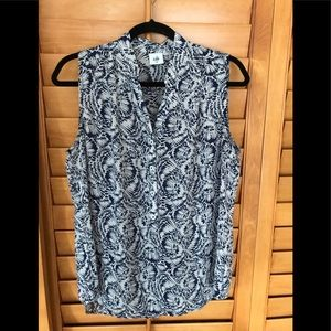 Cabi sleeveless blouse